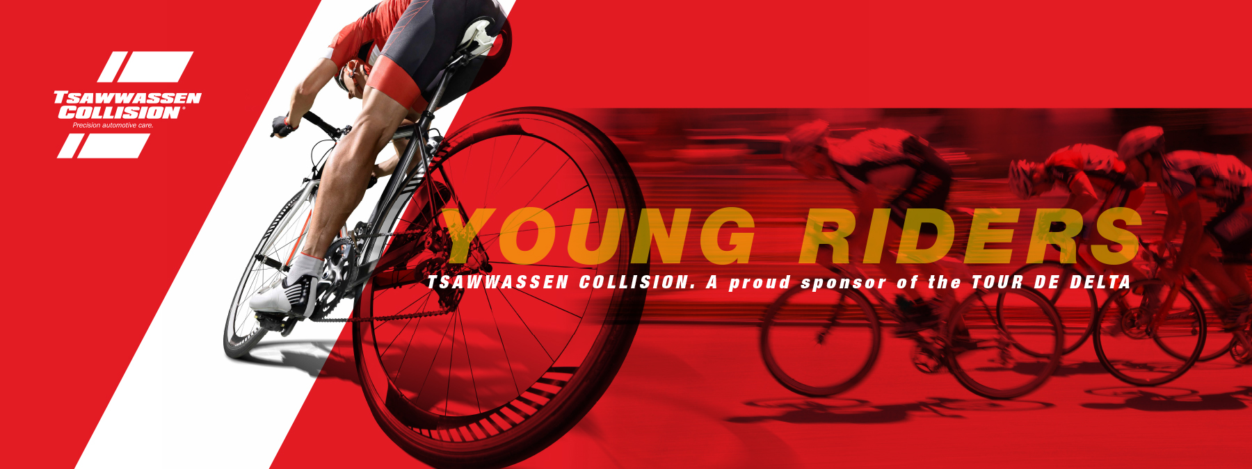 Tour the Delta banner for Young Riders